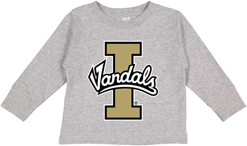 NCAA Idaho Vandals RYLID06 Toddler Long-Sleeve T-Shirt