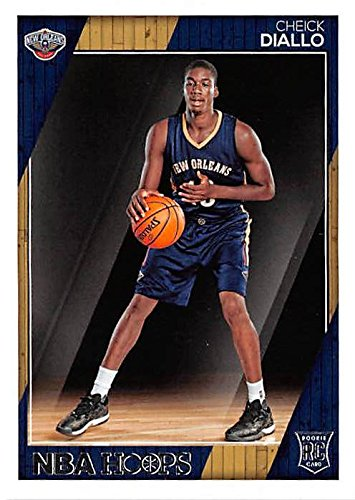 Cheick Diallo basketball card (New Orleans Pelicans) 2016