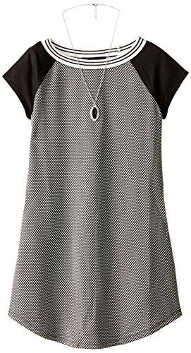 Amy Byer Big Girls' Short-Sleeve Sneaker Dress
