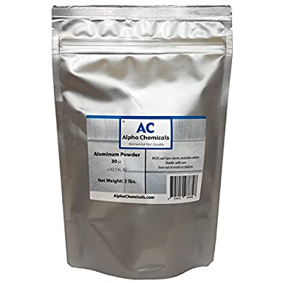 2 Pounds - Aluminum Powder - 30 micron