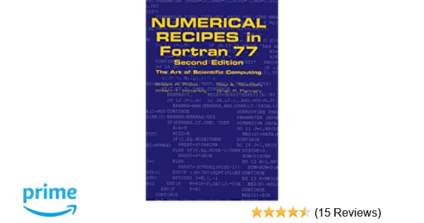 Numerical Recipes in Fortran 77: The Art of Scientific