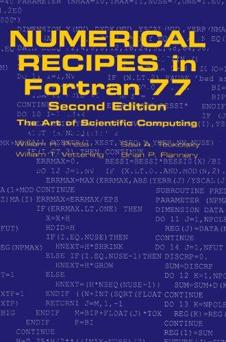 Numerical Recipes in Fortran 77: The Art of Scientific Computing