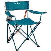 Quechua Katlanır Kamp Sandalyesi - Mavi - Basic (110 Kg Taşır)