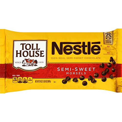 Nestle TOLL HOUSE Semi-Sweet Chocolate Morsels, 24 oz (Sweet Semi Minis Chocolate)