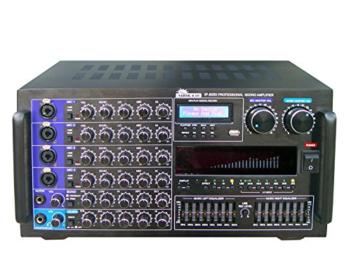 IDOLmain 6000W Professional Digital Karaoke Mixing Power -
