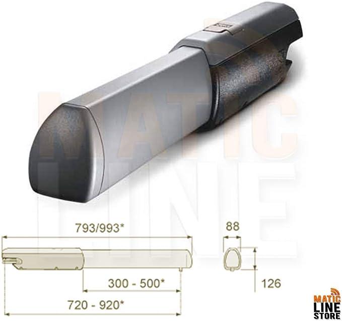 Came ATI A3000 - Accionador de motor para puerta abatible de 3 m, puerta de 230 V: Amazon.es: Bricolaje y herramientas