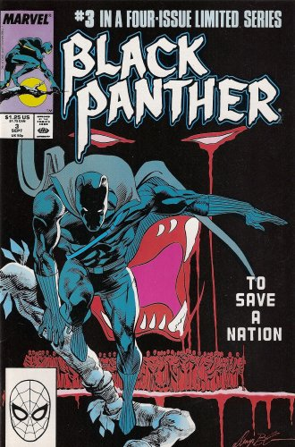 The Black Panther Number 3 of 4 (The Moorbeck Communique)