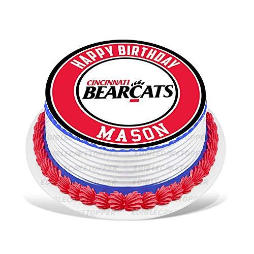 PartyPrint Cincinnati Bearcats Edible Cake Topper Personalized Birthday 6