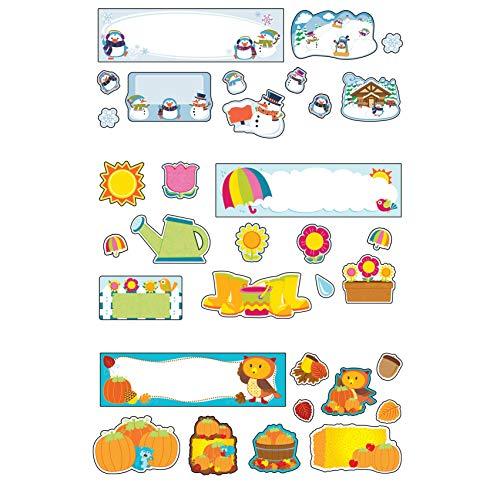 (Carson-Dellosa Seasonal Mini Bulletin Board Set)