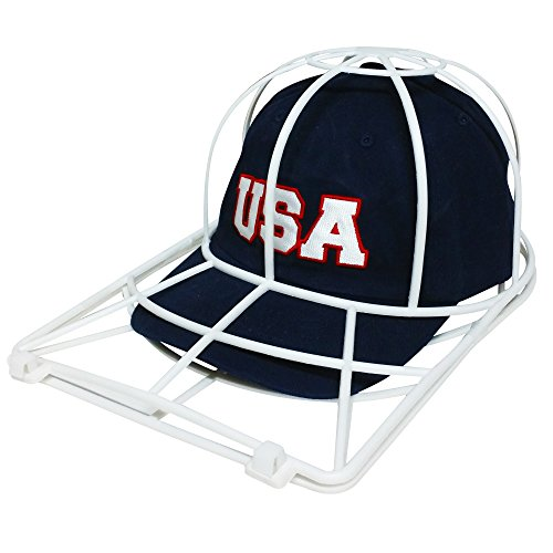Baseball Cap Washer Great Hat Cleaner and Ball Cap Hat Washer. Clean Your Entire Collection From Your Cap Organizer, Hat Rack or Cap Holder Easily Cleans in Your Dishwasher or Washing Machine. ()