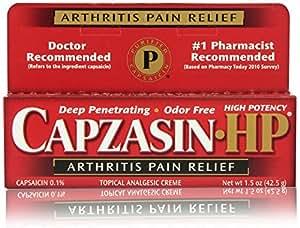 Capzasin-HP Arthritis Pain Relief Topical Analgesic Cream, 1.5 Ounce