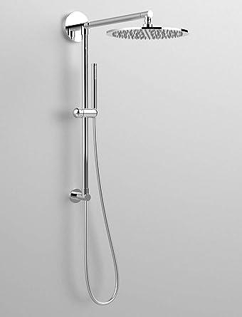 Columna de ducha Divina, toma de agua con conexión superior, brazo ...
