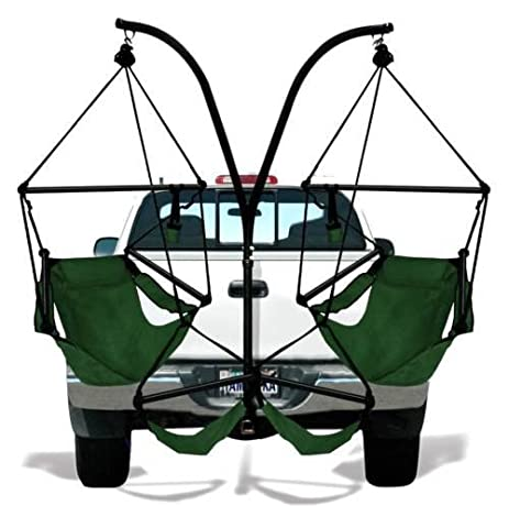 truck trailer hitch stand hammock swing lounge chair  bo hanging porch outdoor amazon     truck trailer hitch stand hammock swing lounge chair      rh   amazon