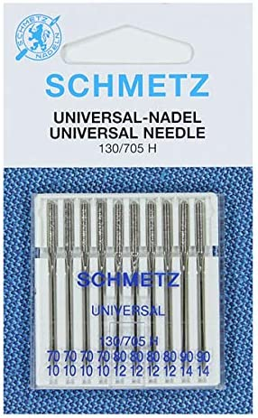 Sewing Machine Needle Schmetz Assorted 70-90 from Germany x10 needle packet by Schmetz