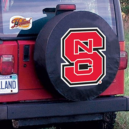 State Wolfpack Bar Stool - 32 1/4 x 12 North Carolina State Tire Cover