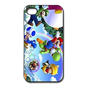 Super Mario Brothers Perfect-Fit Case Cover For IPhone 4/4s - Hot Topic Skin