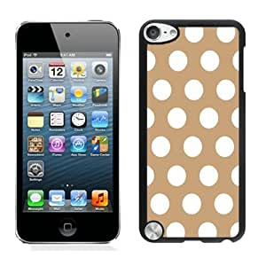Anti-Glare Film for ipod touch (5th Gen)-home/Shop_ipod/ipod_accessories/Case/,Polka Dot Brown and Black ipod touch 5 Case Black Cover