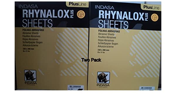 Indasa   Plus  9x11  400 Grit Dry Sandpaper  50 Sheets   # 3A-400  Free Shipping
