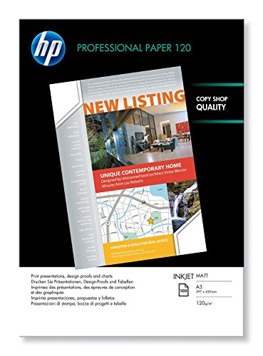 HP PROF INKJET PPR MATT A3 Q6594A