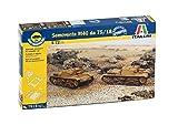 Italeri - I7519 - Maquette - Chars d'assaut - Semovente M40 75/18 - Echelle 1:72