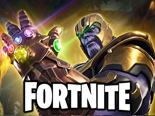 Clip: Fortnite - Thanos from Avengers Infinity War! Victory Royale Gameplay! Season 4 Update!
