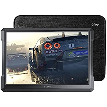 G-STORY 12.9 Inch HDR IPS WQHD 1700P Eye-care Portable Gaming Monitor for PS4, Xbox One (not included) With FreeSync, Typc-C, HDMI Cable, Built-in Speaker, Remote, UL Certificated AC Adapter