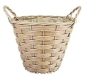 Esschert wb20 cesta para le a pl stico color marr n for Cestas para lena