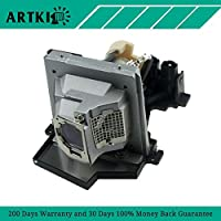 1800MP Replacement Lamp 310-8290 / 725-10106 for Projector Dell 1800MP (By Artki)