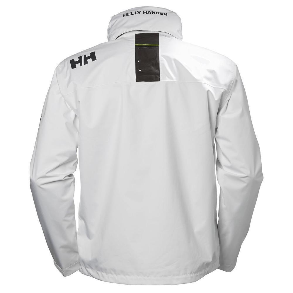 US 33875 Private Brands Helly Hansen Mens Crew Lightweight Waterproof Windproof Breathable Sailing Rain Coat Jacket with Stowable Hood Helly Hansen