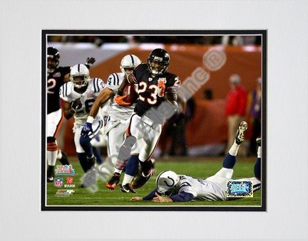 Photo File Chicago Bears Devin Hester Super Bowl XLI Matted