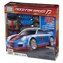 Mega Bloks Need for Speed Porche 911 GT3 RS - Blue Set