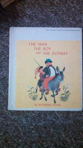 The man, the boy, and the donkey,