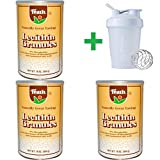 Fearn Natural Food, Lecithin Granules, 16 oz (454 g) (3 PCS)+ Assorted Sundesa, BlenderBottle, Classic With Loop, 20 oz