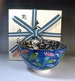 Arita - Imari | green tea bowl - tea utensils | Platinum Aya Ji picture tea cup Fujii NishikiAya