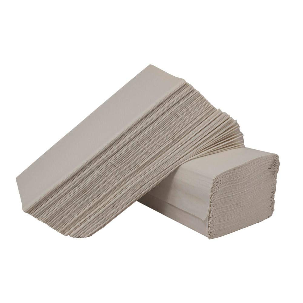 2WORK 1PLY WHITE I-FOLD 242X222MM PK3600