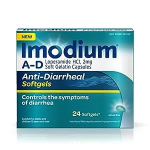 Amazon Com Imodium A D Diarrhea Softgels 24 Count