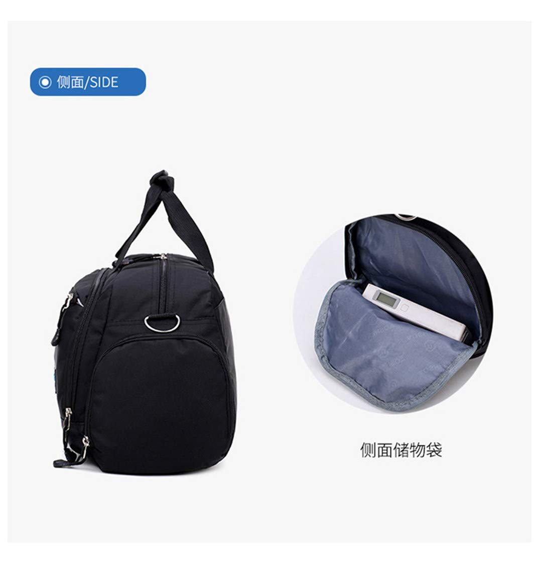Oxford Mens Travel Bag Large Capacity Men H Luggage Bags Nylon Weekend Bags Women Travel Bags Multifunctional photo color4
