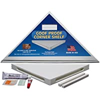 GOOF PROOF SHOWER GPCS-1500 Retro Corner Shelf by GOOF PROOF SHOWER
