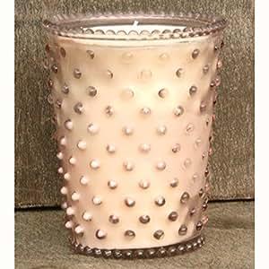 Amazon.com: Simpatico Hobnail Candle - 16 Oz Honeysuckle ...