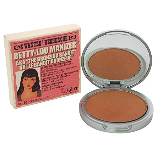 Betty-Lou Manizer, Highlighter/Shadow/Shimmer/Bronzer, Silky-Smooth, Bronze Glow