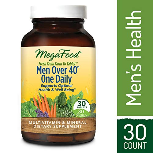 MegaFood - Men Over 40 One Daily, Multivitamin Support for H