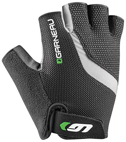- Louis Garneau Men's Biogel RX-V Bike Gloves, Gray/Green, Medium