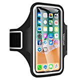 iPhone X Armband, ARTEESOL Sweat Proof Cell Phone Holder 5.2 Inch with Fingerprint