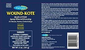 FARNAM 30401 Aerosol Wound Kote Pet Oinment, 5-Ounce