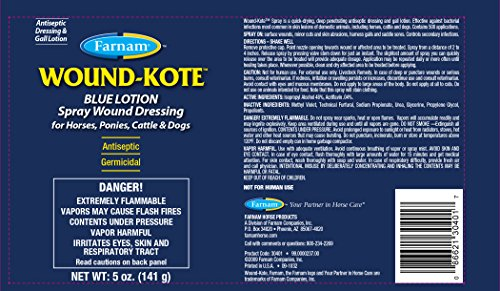 Picture of FARNAM 30401 Aerosol Wound Kote Pet Oinment, 5-Ounce