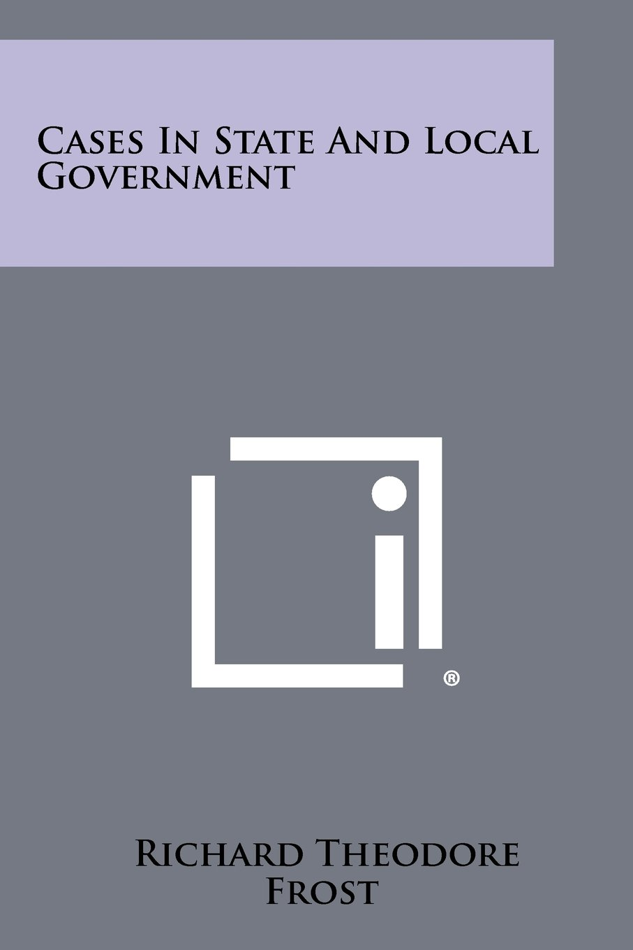 Download Cases in State and Local Government pdf epub
