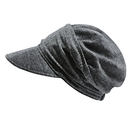 Casualbox Womens Summer Sun Hat Light Weight Wide Japanese Design Gray