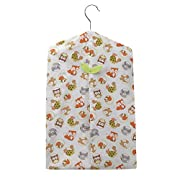 Bedtime Originals Friendly Forest Woodland Diaper Stacker, Green/Brown/White