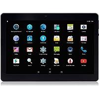 "Tableta para teléfono Android de 10.1 "", ranuras para tarjetas 3G Sim, procesador Quad-Core, CPU de 1.8GHz, almacenamiento de 32GB (Negro)"