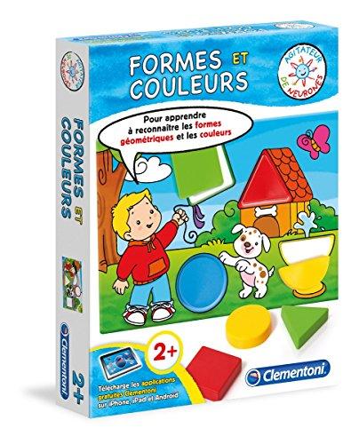 Clementoni - 62388.4 - Jeu Educatif - Formes Et Couleurs - 2 Ans Et +